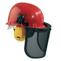 Védősisak arc és hallásvédővel (GPPL0206002)